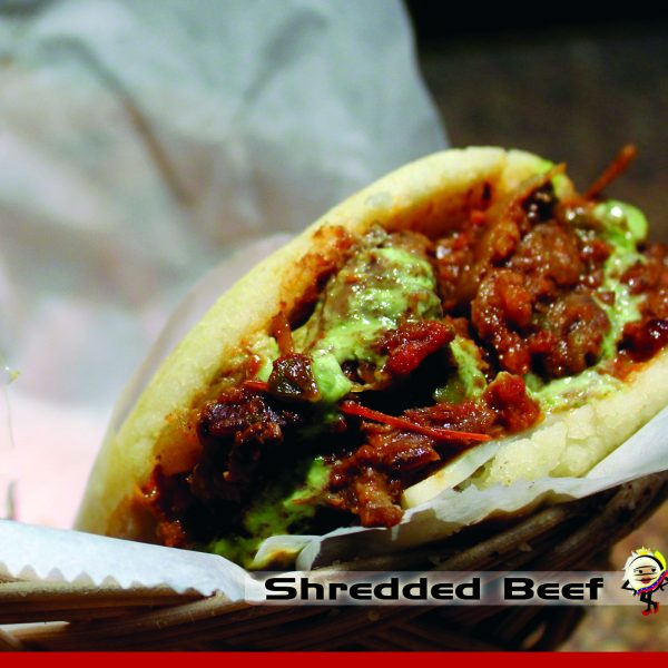 shredded beef